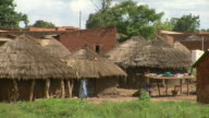 rural village in africa video