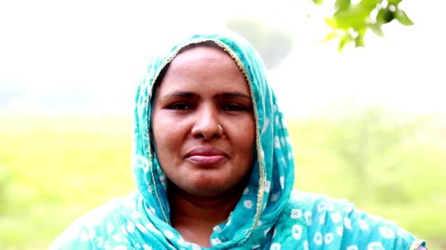 Rural Women Portrait video