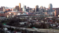 Rush Hour Cincinnati Ohio Downtown Midwest United States video