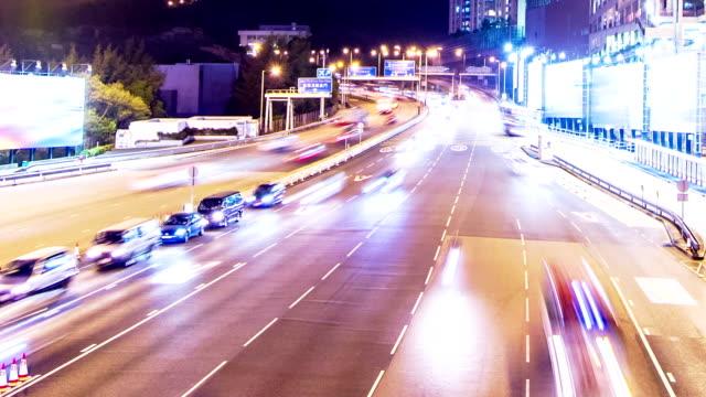 Rush Hour. City Traffic. Tilt Down Shot. video