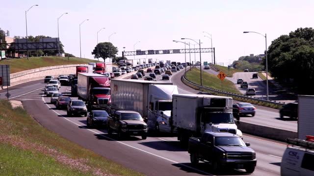 Rush hour in Austin, Tx video