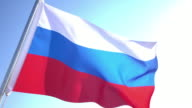 Russian Flag video