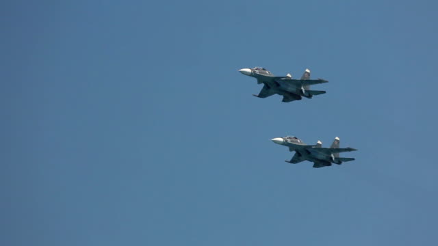 Russian military aircraft video