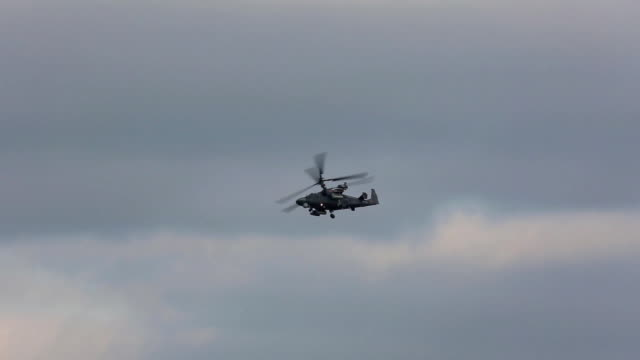 Russian military helicopter video