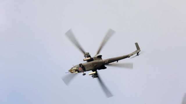 Russian military helicopters video