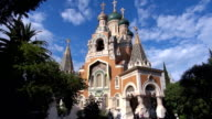 Russian Orthodox Cathedral - Nice, France video