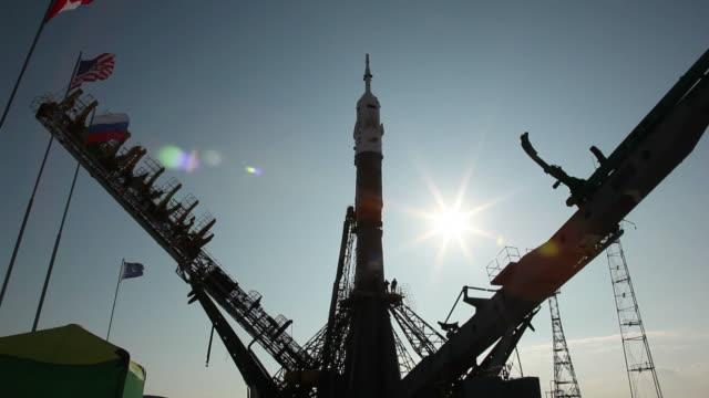 russian  rocket video