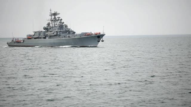 Russian warship video