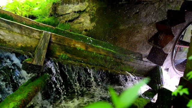 Rustic Hydroelectric Generator video