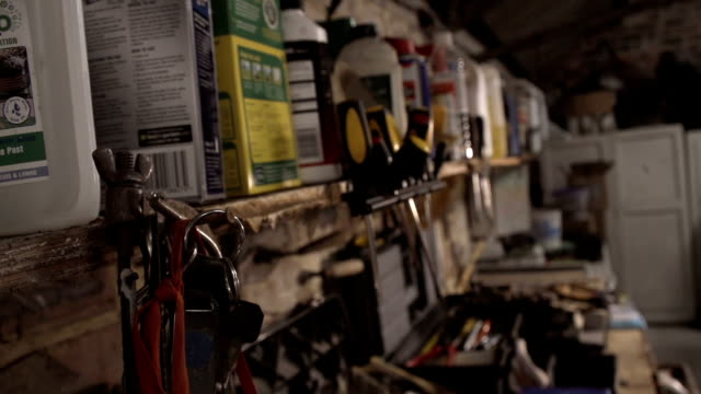 Rustic Workman's Garage With Old Tools video