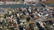 Ryves Holt House  - Aerial View - Delaware,  Sussex County,  United States video