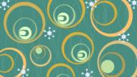 50's - 70's Retro looping pattern video