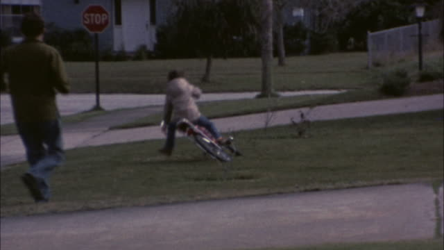 70's 8mm footage learning to ride a bike #3 video
