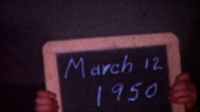 1950's Slate video
