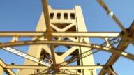 Sacramento Tower Bridge video