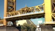 Sacramento Tower Draw Bridge Lowering video