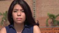 Sad And Depressed Teen Girl video