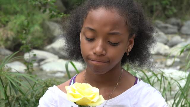 Sad Teen African Girl video