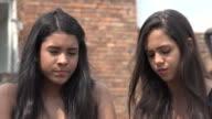Sad Teen Hispanic Girls video