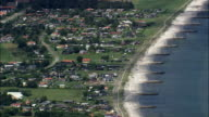Saeby  - Aerial View - North Denmark,  Denmark video