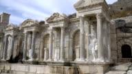 Sagalassos ancient city from Aglasun. Burdur / Turkey. video