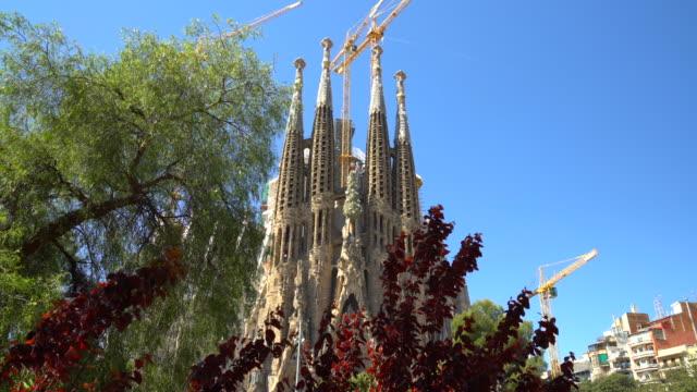 Sagrada Familia in Barcelona video