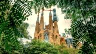 Sagrada Familia Temple, Barcelona video