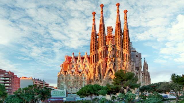 Sagrada Familia, Time lapse - Barcelona video
