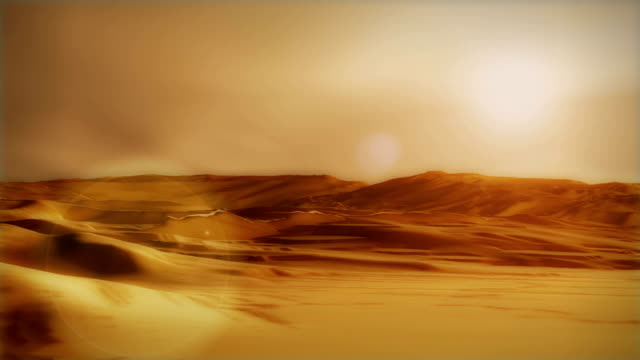 Sahara arabian desert sand storm dunes wilderness environment sunset video