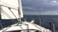 Sail boat video