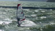 Sailboarding in the San Francisco Bay video