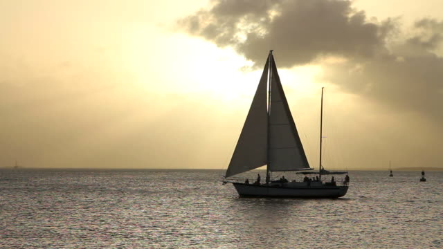 Sailboat Key West Sunset video