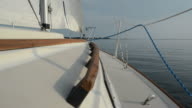 Sailboat On Water video