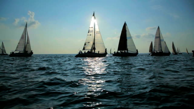 Sailboat Race 3 - Great Lakes Sailing video