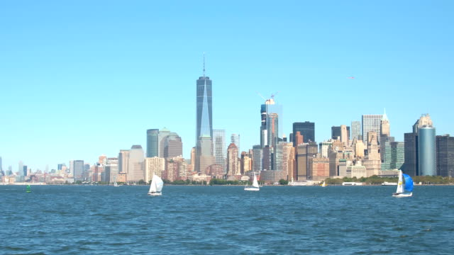 Sailing, boat tours and private yacht charters in iconic New York City Harbor video