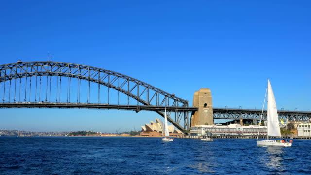 Sailing boats, Sydney (4K/UHD to HD) video