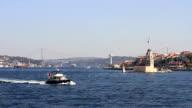 Sailing in Bosphorus Sea video