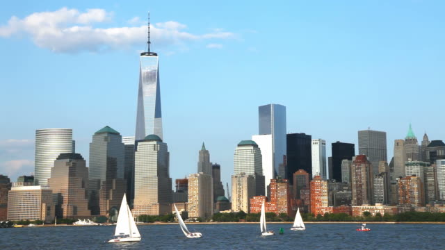 Sailing New York City video