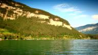 sailing on lake Thun video