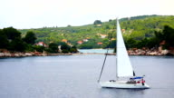 Sailing on the Adriatic Sea video