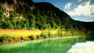 sailing on Thun lake video