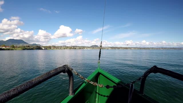 Sailing over Lake Taupo New Zealand video
