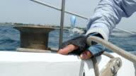 sailing race video
