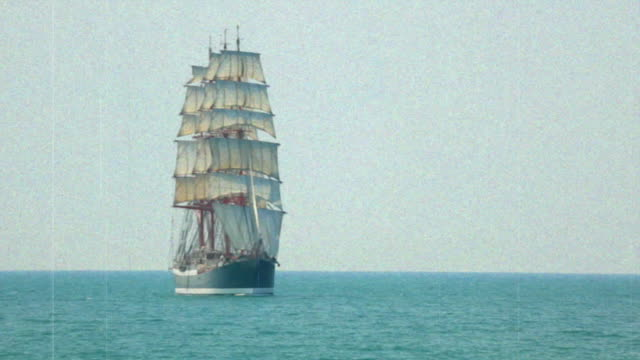 sailing ship video