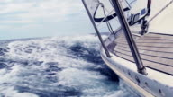 HD: Sailing Through The Waves video