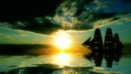 sailing vessel video