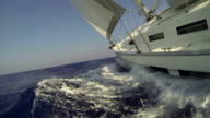 Sailing voyage among the Islands of the Dodecanese. video
