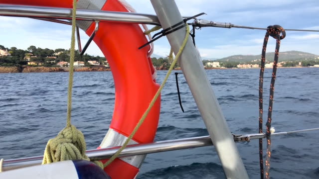 Sailing with safety equipment video