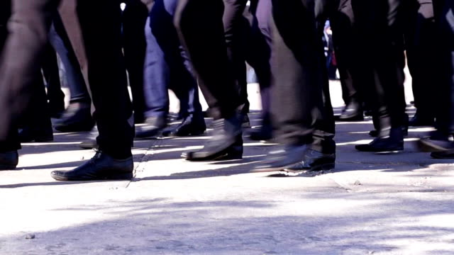 Sailors Marching video