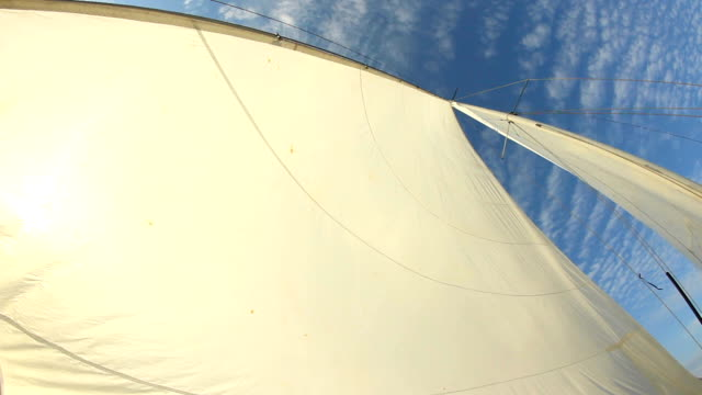sails full of wind video